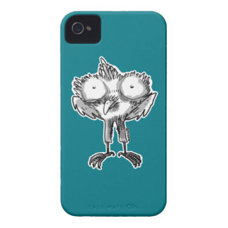 baby eagle cartoon style illustration iPhone 4 Case-Mate cases