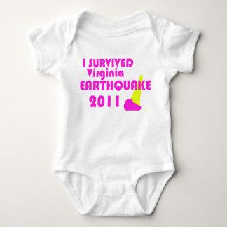 Baby Earthquake Baby Bodysuit