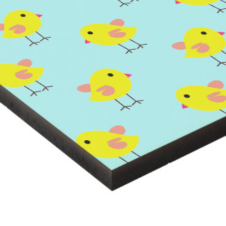 Baby Easter Chicks in Yellow and Aqua Panel Wall Art