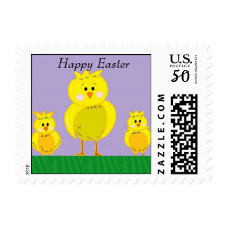 Baby Easter Chicks Postage