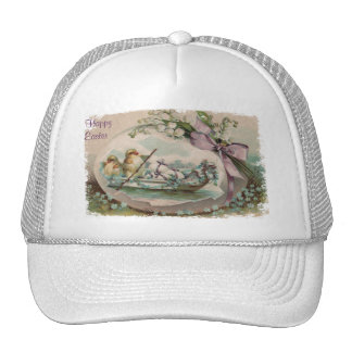 Baby Easter Chicks Rowing Easter  Hat