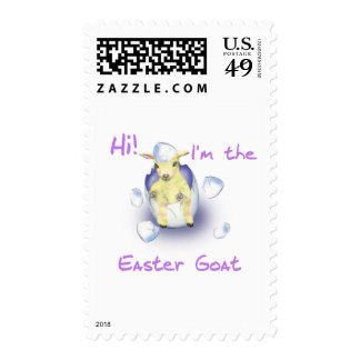 Baby Easter Goat Postage