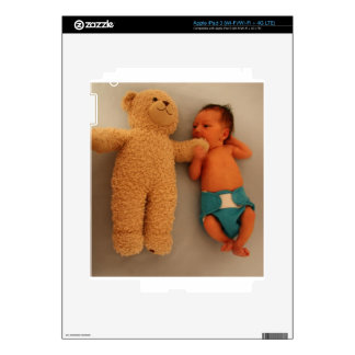 Baby eating Bear Decal For iPad 3