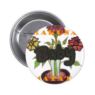 Baby Eco Hakuna Matata gifts Button