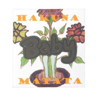 Baby Eco Hakuna Matata gifts Scratch Pads