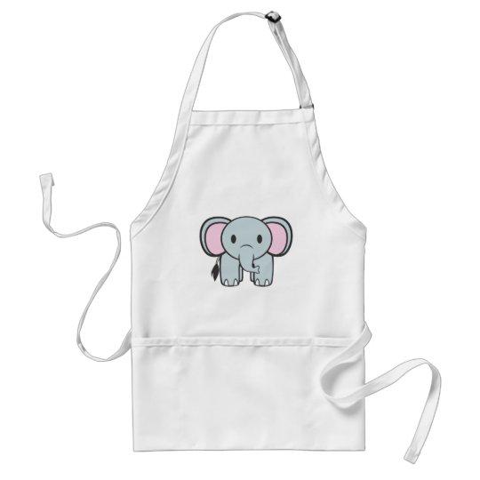 Baby Elephant Adult Apron