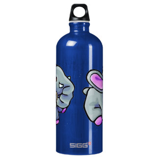 Baby Elephant Aluminum Water Bottle