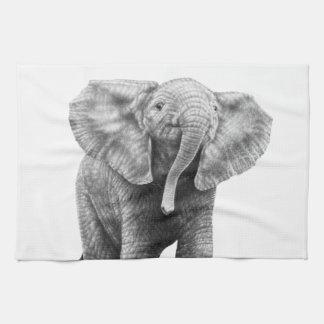 Baby Elephant American MoJo Kitchen Towels