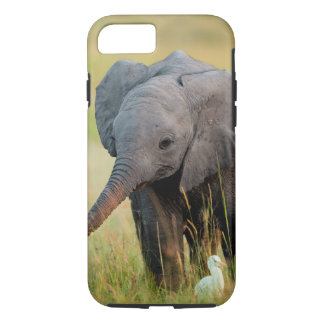 Baby Elephant and Birds iPhone 7 Case