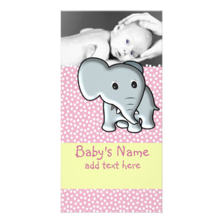 Baby Elephant Announcement