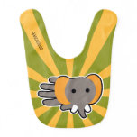 Hand shaped Baby elephant bib