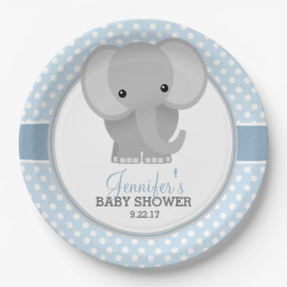 baby elephant baby shower plates baby elephant baby shower plate