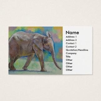 Baby Elephant Business Card