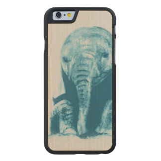 Baby Elephant Carved® Maple iPhone 6 Case