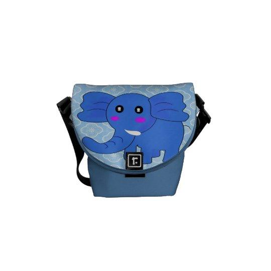 Baby Elephant Courier Bag