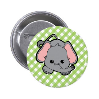 Baby Elephant Cutie Button