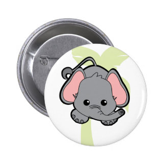 Baby Elephant Cutie Pinback Button
