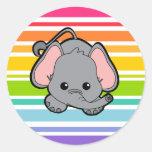 Baby Elephant Cutie Sticker