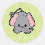 Baby Elephant Cutie Stickers