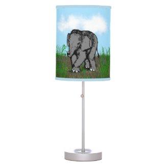 Baby Elephant Desk Lamp