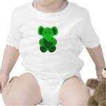 Baby Elephant in Green - Infant Creeper Creeper