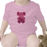Baby Elephant in Pink - Infant Creeper Creeper