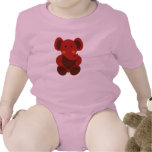 Baby Elephant in Red - Infant Creeper Baby Creeper