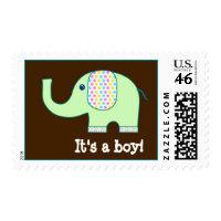Baby Elephant, It's a boy, Postage
