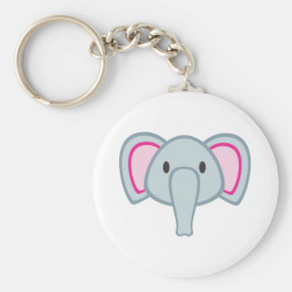 Baby Elephant Keychain