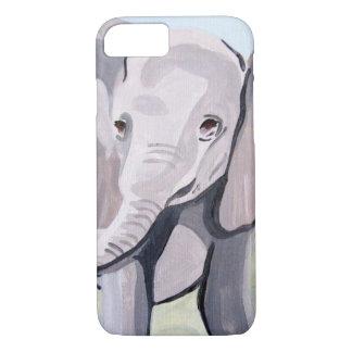 Baby Elephant (Kimberly Turnbull Art) iPhone 8/7 Case