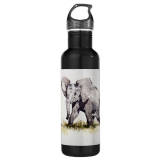 Baby Elephant Liberty Water Bottle
