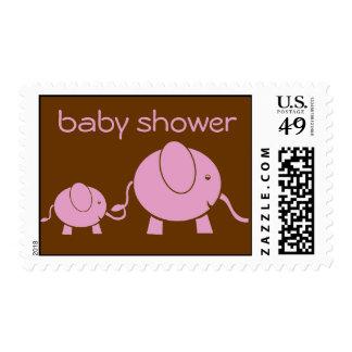 Baby Elephant & Mama US Postage Stamp