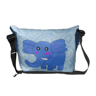 Baby Elephant Messenger Bag
