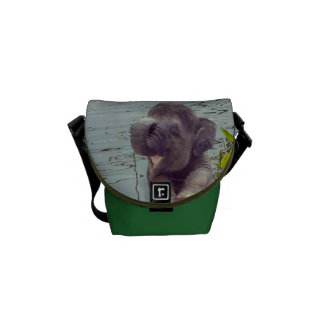 Baby Elephant Mini Messenger Bag