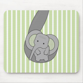 Baby Elephant Mouse Pad
