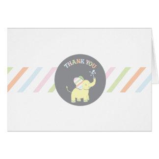 Baby Elephant   |  Neutral Thank You Card