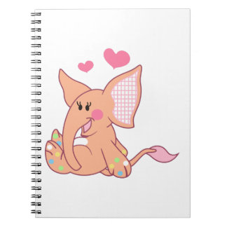 BABY ELEPHANT SPIRAL NOTEBOOKS
