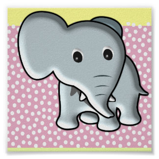 Baby Elephant/ Nursery Decor