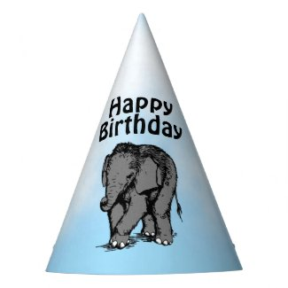 Baby Elephant Party Hat