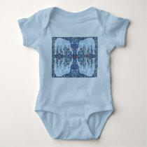 Baby Elephant Patterned Baby Bodysuit