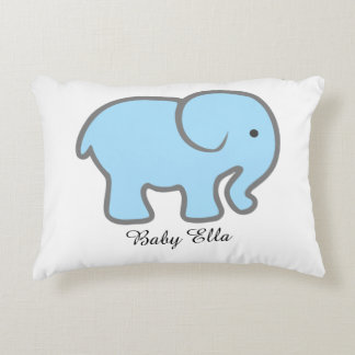 Baby Elephant-Pillow Decorative Pillow