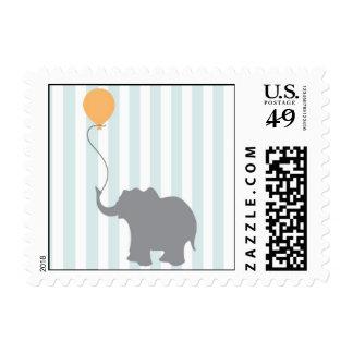 Baby Elephant Postage Stamp