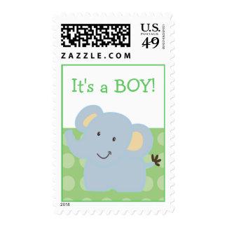 Baby Elephant Postage :: Tootsie Doodle: Custom