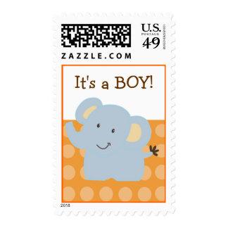 Baby Elephant Postage :: Tootsie Doodle :: Custom