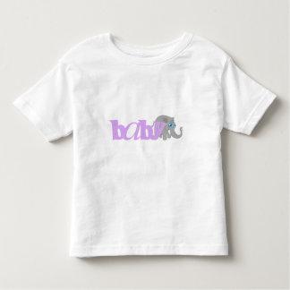 Baby Elephant (purple) Shirt