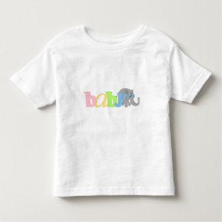 Baby Elephant (rainbow) Toddler T-shirt