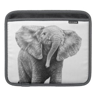 Baby Elephant Rickshaw Sleeve iPad Sleeves