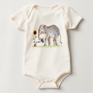 Baby Elephant Romper