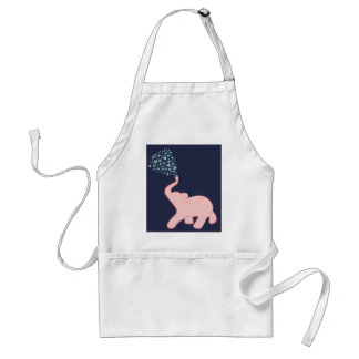 Baby Elephant Star Shower Apron