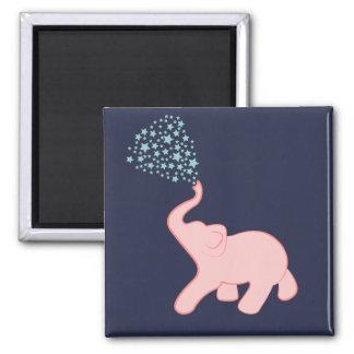 Baby Elephant Star Shower Magnet